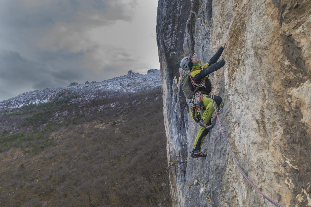 free climbing arrampicata libera